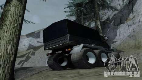ЗиЛ Кержак 6х6 для GTA San Andreas вид справа