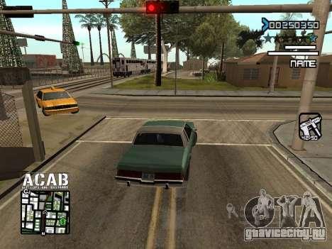 C-HUD by Edya для GTA San Andreas второй скриншот