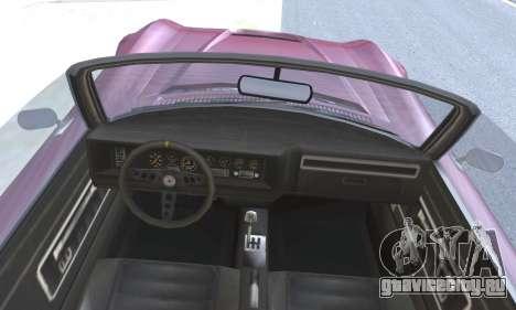 Invetero Coquette Classic v1.1 Open Top для GTA San Andreas вид сзади слева