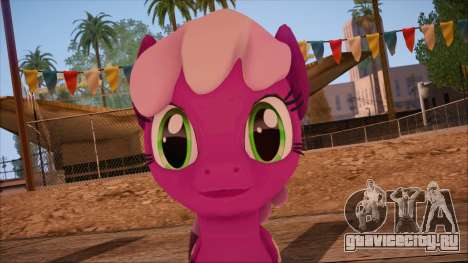 Cheerilee from My Little Pony для GTA San Andreas третий скриншот