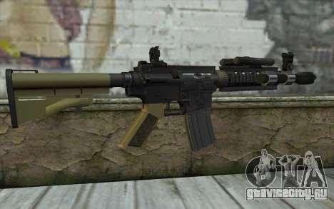 M4 MGS Aimpoint v1 для GTA San Andreas второй скриншот