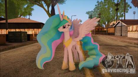 Celestia from My Little Pony для GTA San Andreas