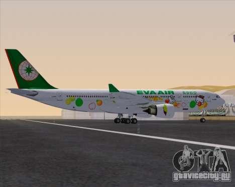 Airbus A330-200 EVA Air (Hello Kitty) для GTA San Andreas