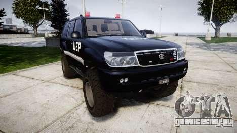 Toyota Land Cruiser 100 UEP [ELS] для GTA 4