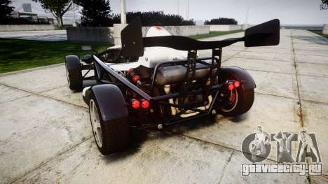 Ariel Atom V8 2010 [RIV] v1.1 FUEA Equipped для GTA 4 вид сзади слева