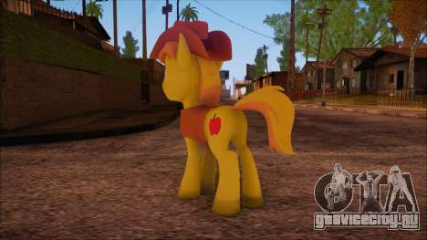 Braeburn from My Little Pony для GTA San Andreas второй скриншот