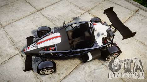 Ariel Atom V8 2010 [RIV] v1.1 FUEA Equipped для GTA 4 вид справа