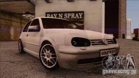 Volkswagen Golf Mk4 GTI для GTA San Andreas