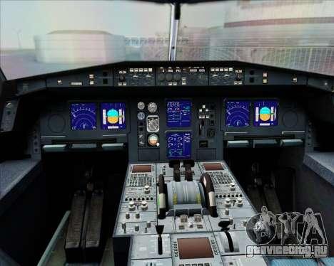 Airbus A340-300 Air Herler для GTA San Andreas салон