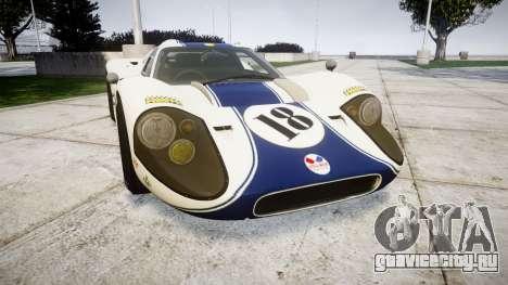 Ford GT40 Mark IV 1967 PJ 18 для GTA 4