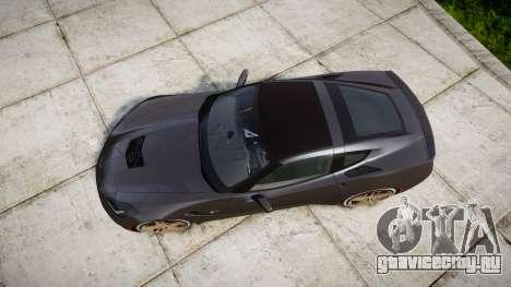 Chevrolet Corvette C7 Stingray 2014 v2.0 TireBr3 для GTA 4 вид справа