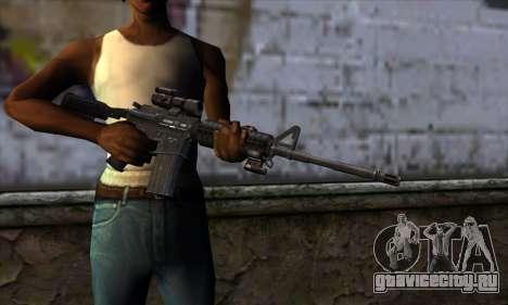 New M4 для GTA San Andreas третий скриншот