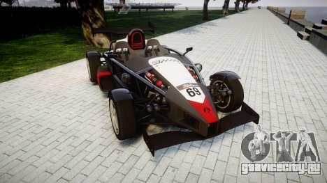 Ariel Atom V8 2010 [RIV] v1.1 Garton Racing Team для GTA 4