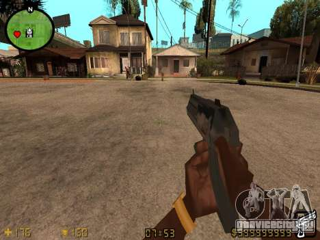 Counter-Strike HUD для GTA San Andreas второй скриншот
