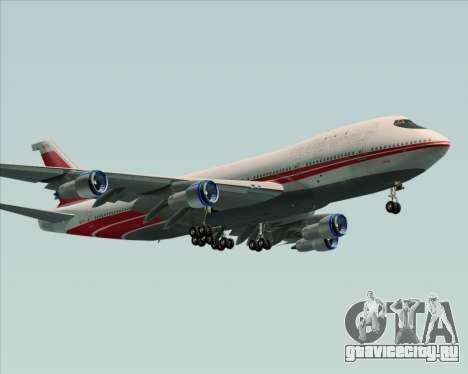 Boeing 747-100 Trans World Airlines (TWA) для GTA San Andreas вид сзади