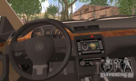 Volkswagen AirCC для GTA San Andreas вид сзади слева