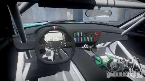 BMW Z4 GT3 2014 Goodsmile Racing для GTA 4 вид изнутри