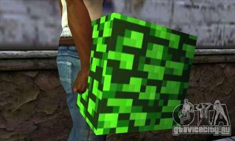 Блок (Minecraft) v12 для GTA San Andreas третий скриншот