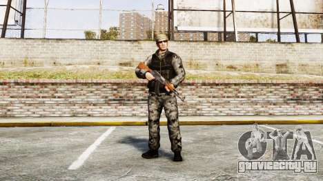 Medal of Honor LTD Camo2 для GTA 4