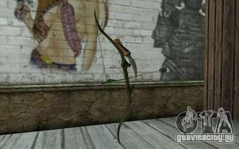 Green Arrow Bow v2 для GTA San Andreas второй скриншот