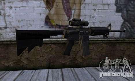 New M4 для GTA San Andreas второй скриншот