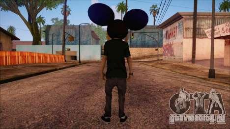 Deadmau5 Skin для GTA San Andreas второй скриншот