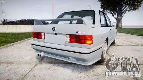 BMW M3 E30 1991 [EPM] для GTA 4 вид сзади слева