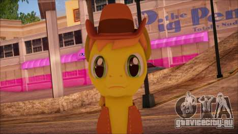 Braeburn from My Little Pony для GTA San Andreas третий скриншот