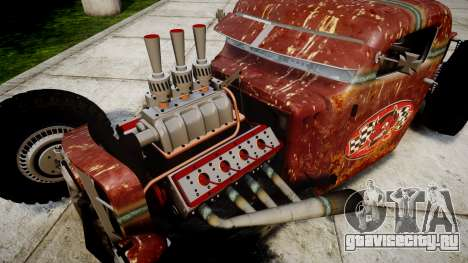 Dumont Type 47 Rat Rod PJ2 для GTA 4 вид сзади