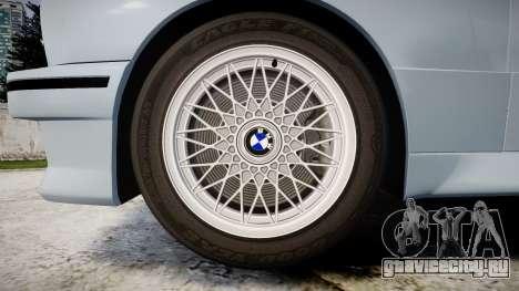 BMW M3 E30 1991 [EPM] для GTA 4 вид сзади