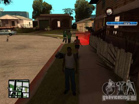 C-HUD by SampHack v.17 для GTA San Andreas третий скриншот