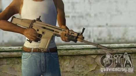 AK12 from Battlefield 4 для GTA San Andreas третий скриншот