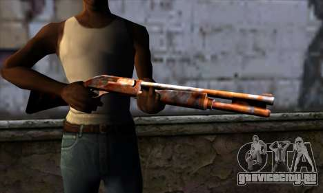 Chromegun v2 Ржавый для GTA San Andreas третий скриншот