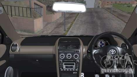 Toyota Altezza (RS200) 2004 (IVF) для GTA San Andreas вид сзади слева