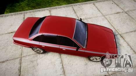Vapid Stanier Rims Minivan для GTA 4 вид справа