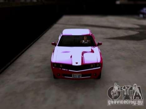Bravado Gauntlet GTA 5 для GTA San Andreas вид справа