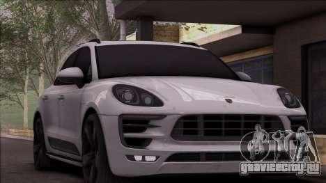 Porsche Macan для GTA San Andreas