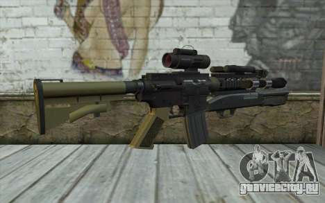 M4 MGS Aimpoint v3 для GTA San Andreas второй скриншот