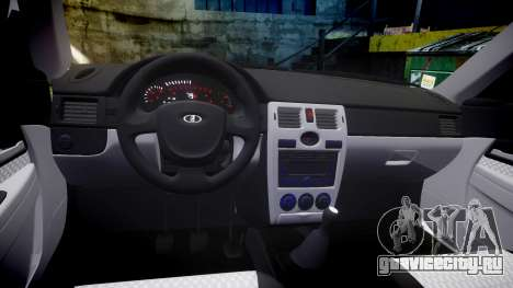 ВАЗ-2170 Приора литьё для GTA 4 вид изнутри