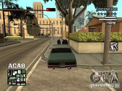 C-HUD by Edya для GTA San Andreas третий скриншот