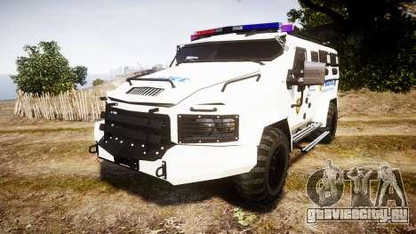 SWAT Van Police Emergency Service для GTA 4
