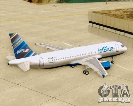 Airbus A320-200 JetBlue Airways для GTA San Andreas