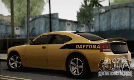 Dodge Charger SuperBee для GTA San Andreas вид слева