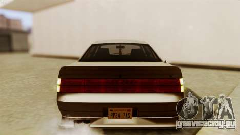 GTA 5 Intruder Tuning Bumpers для GTA San Andreas вид сзади