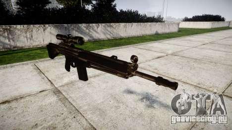 Винтовка G3SG1 для GTA 4