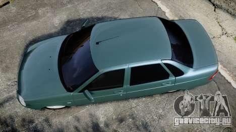 ВАЗ-2170 Lada Priora для GTA 4 вид справа
