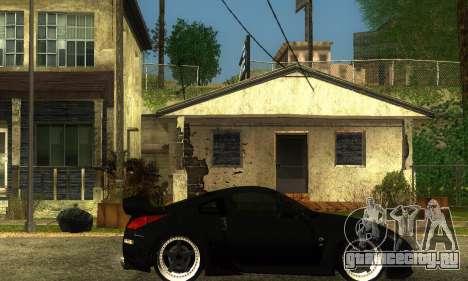 Nissan 350Z Drift для GTA San Andreas вид справа