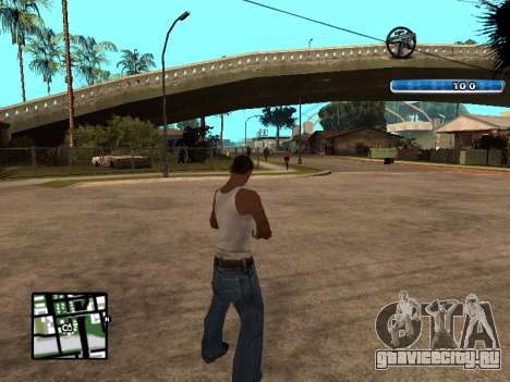 C-HUD by SampHack v.17 для GTA San Andreas второй скриншот