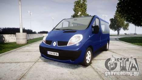 Renault Trafic Passenger для GTA 4