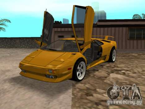Lamborghini Diablo для GTA San Andreas
